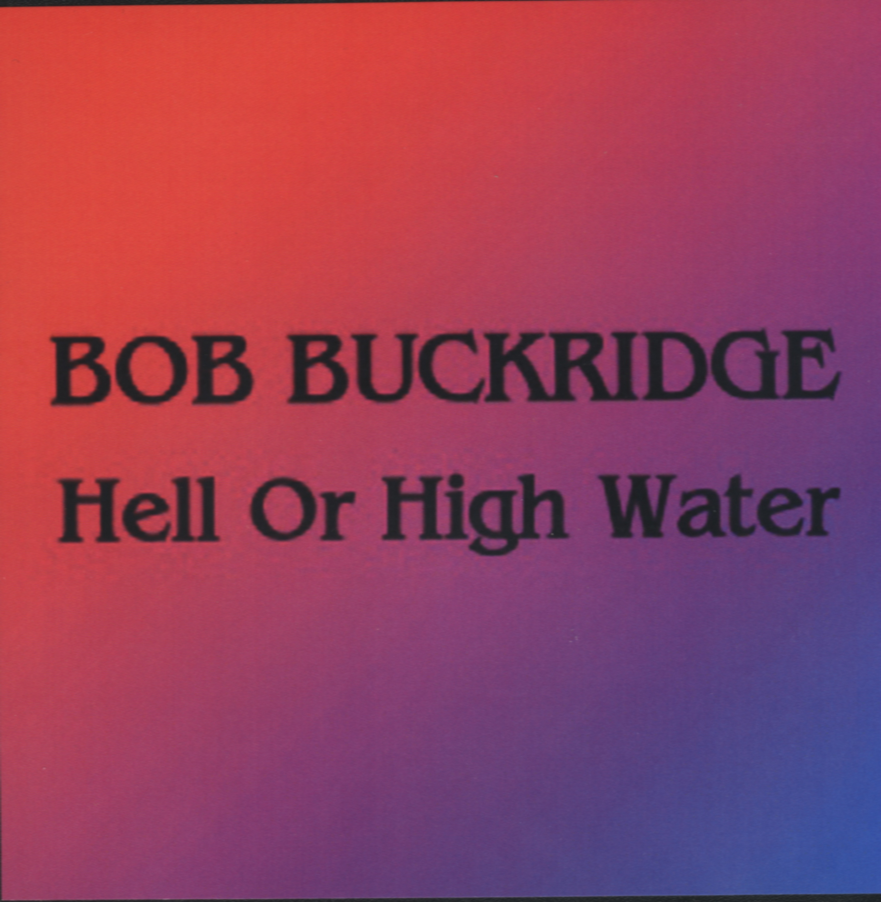 hell or high water cd cover0001